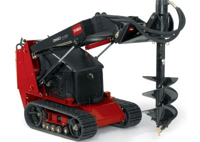 Auger for Walk-Behind Skidsteer