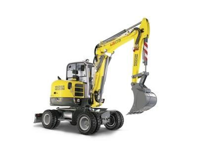 12,500lbs 12′ Dig Depth Wheel Excavator