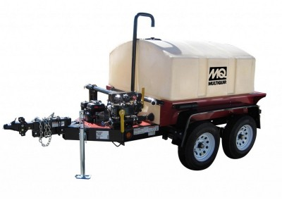 500 Gallon w/ Spray Bar Water Trailer
