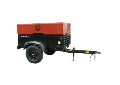 185 CFM Towable Air Compressor