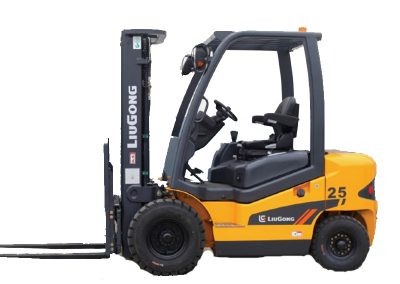 5,000lbs Semi-Pneumatic Forklift Electric